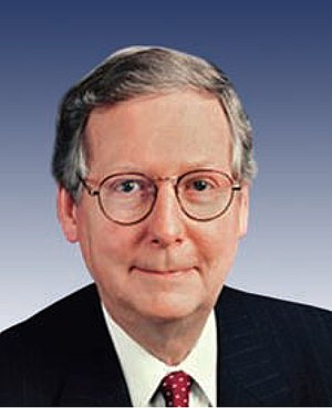 Kentucky Senator Mitch McConnell