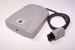 English: A Nintendo 64 VRU (Voice Recognition ...