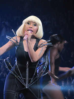 English: Nicki Minaj live on Femme Fatale Tour...