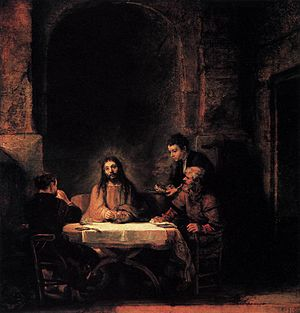 Rembrandt - Supper at Emmaus - WGA19115