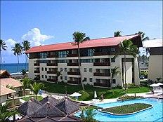 Resort na praia de Muro Alto.