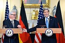 Steinmeier with John Kerry in March 2015