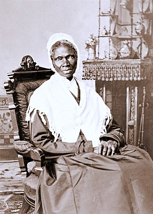 Sojourner Truth, albumen silver print, circa 1870