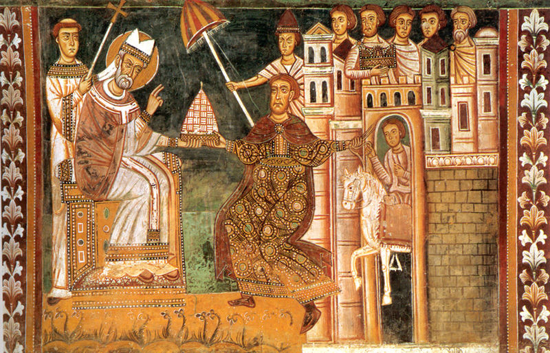 File:Sylvester I and Constantine.jpg