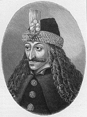 Portrait of Vlad Ţepeş (ruled 1455-1462, 1483-...