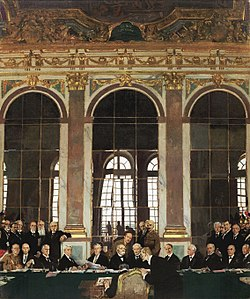 The Signing of Peace in the Hall of Mirrors  Wikipedia