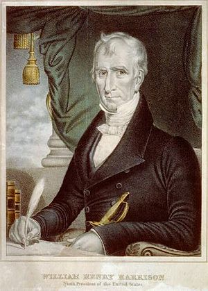 English: William Henry Harrison: ninth Preside...