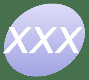 English: The XXX P icon