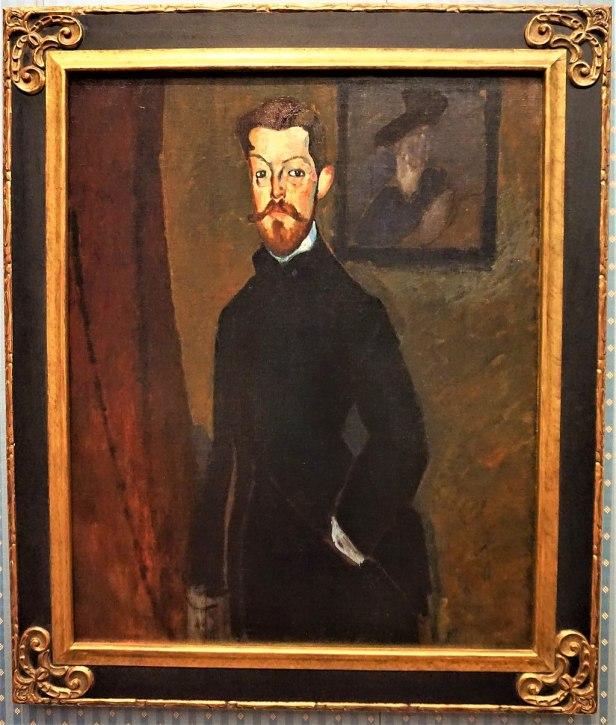 """Portrait of Dr Paul Alexandre"" by Amedeo Modigliani"
