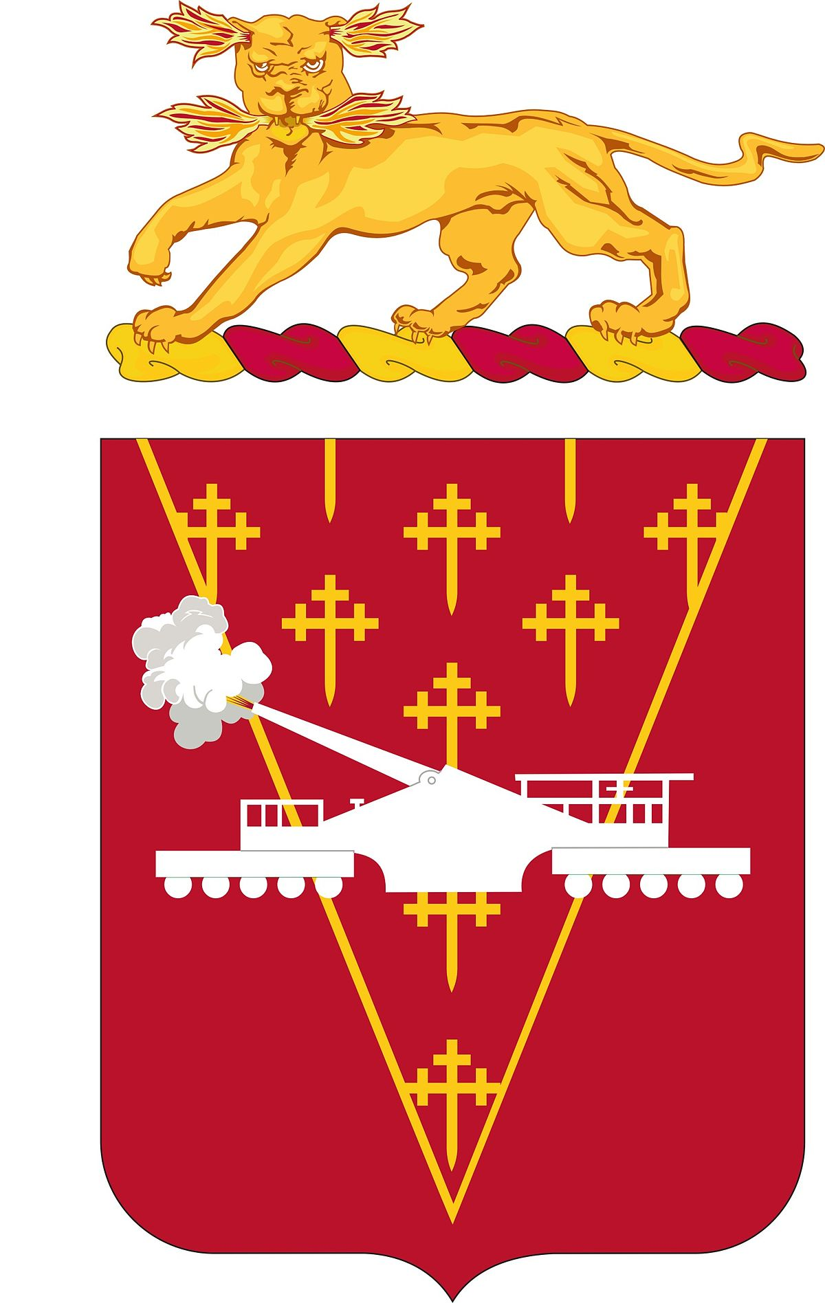 Coast Artillery Unit Crest