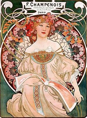 F. Champenois Imprimeur-Éditeur, lithograph, 1897.