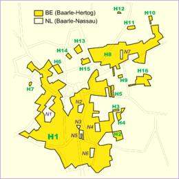 Enclaves in enclaves