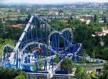 Blue Tornado Roller Coaster