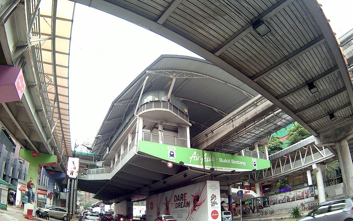 Bukit Bintang Monorail Station Wikipedia
