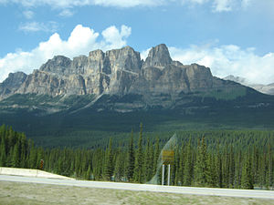 Castle Mountain, Alberta, Canada