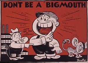 Don't be a bigmouth - NARA - 535386