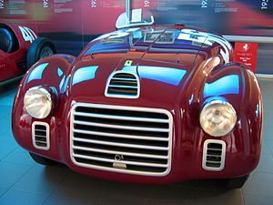 1947 Ferrari 125 S at Galleria Ferrari in Mara...