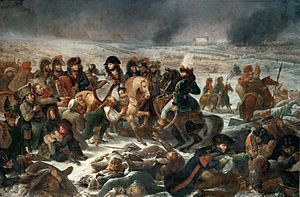 """Napoleon on the field of Eylau"" by Antoine-Jean Gros"