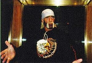 The Wrestling legend Hulk Hogan