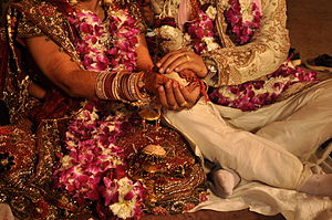 English: Indian wedding, rituals