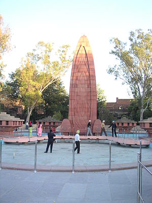 Jallianwala Bagh memorial to commemorate the f...