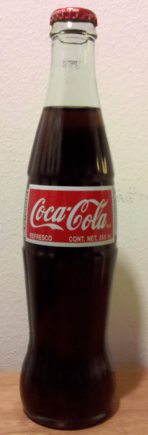 A Bottle of Mexican Coke.