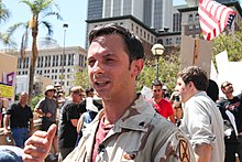 Mike Prysner, Leader of March Forward (9639302421).jpg