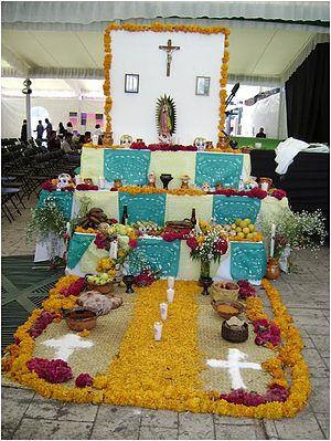 Ofrenda del dia de los muertos 5