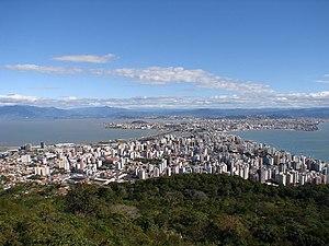 Panorama di Florianaplis  Brasile per le tue vacanze