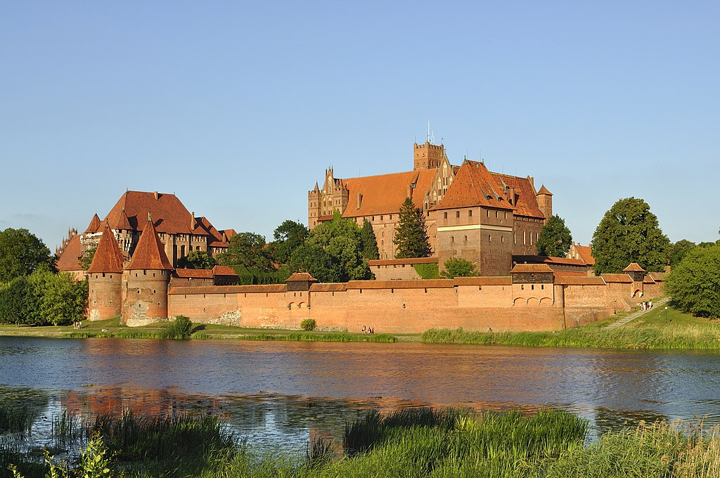 Panorama of Malbork Castle, part 3