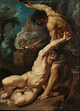 Peter Paul Rubens - Cain slaying Abel, 1608-1609