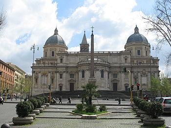 Piazza Esquilino with Basilica di Santa Maria ...