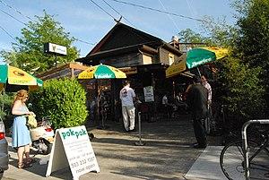 Pok Pok Thai restaurant in Portland, Oregon. T...