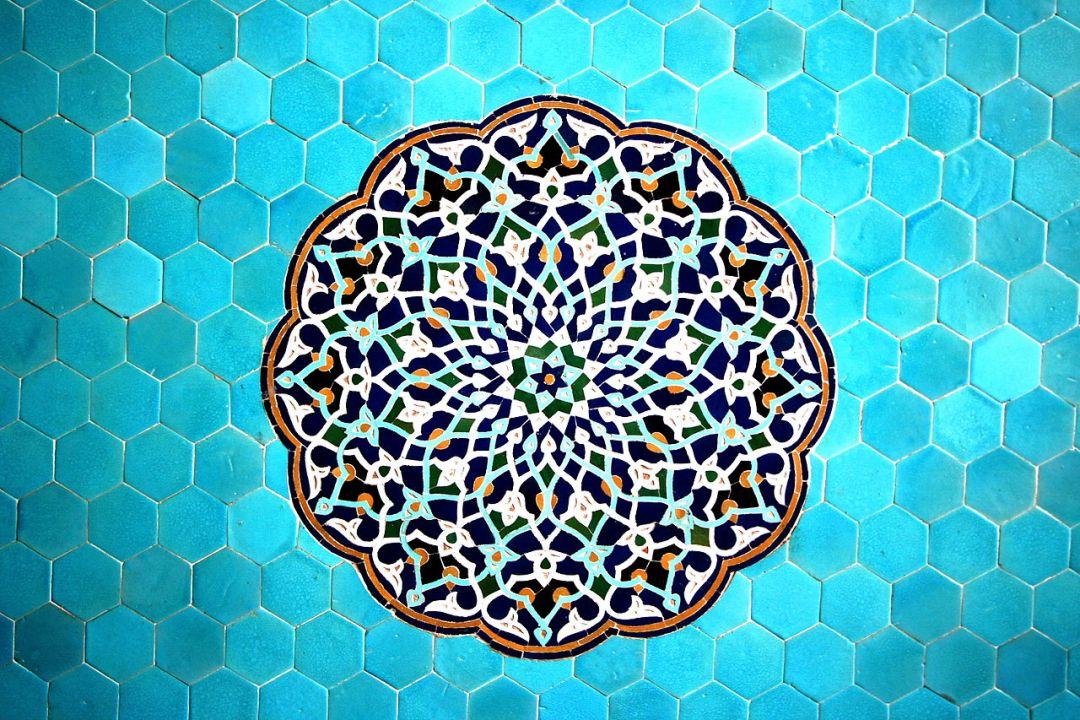 Patrones geométricos del arte islámico