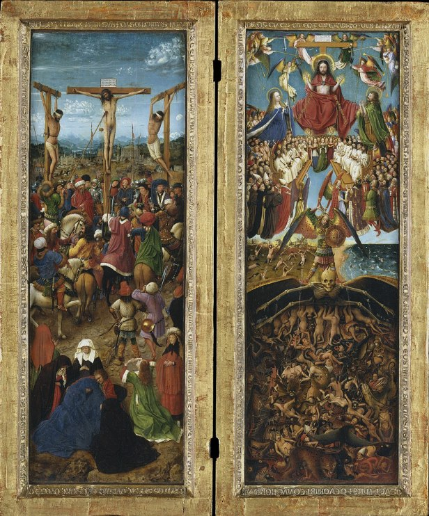 Van Eyck - The Crucifixion; The Last Judgment