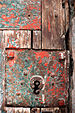 English: Cell 18 door detail, old city jail in...