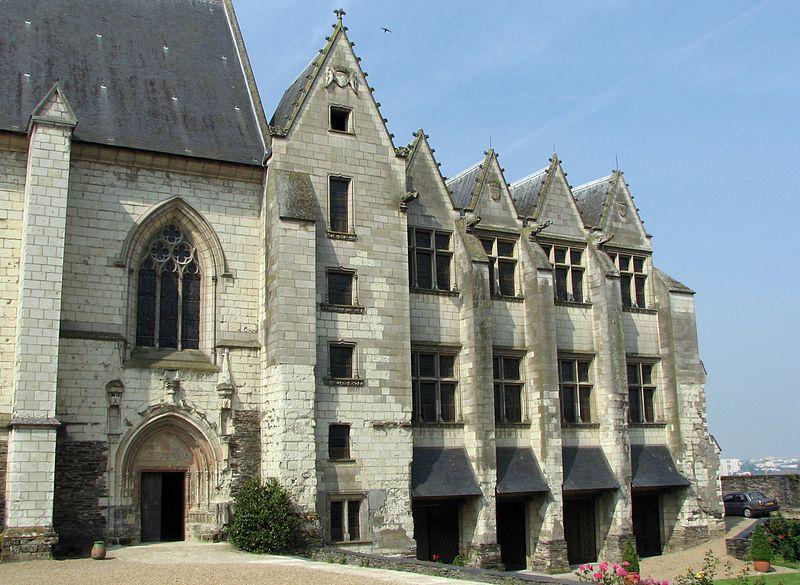 Château angers chapelle logis