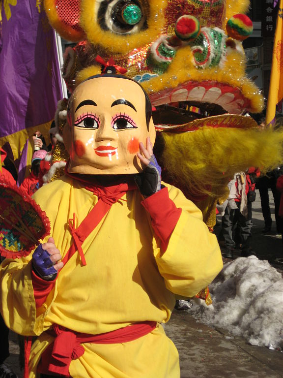 Chinese New Year festival in Chinatown, Boston.