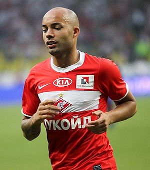 English: Demy de Zeeuw with FC Spartak Moscow.