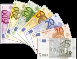 Der EURO, wie bereits seine Vorgängerin die D-Mark eine Papiergeldwährung (Bildquelle: Wikipedia)