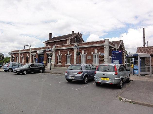 File:Fourmies (Nord, Fr) la gare.jpg