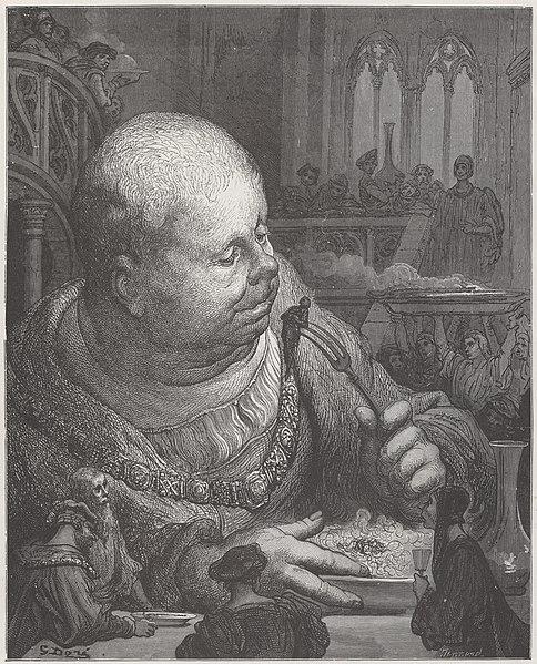 Gargantua par Gustave Doré