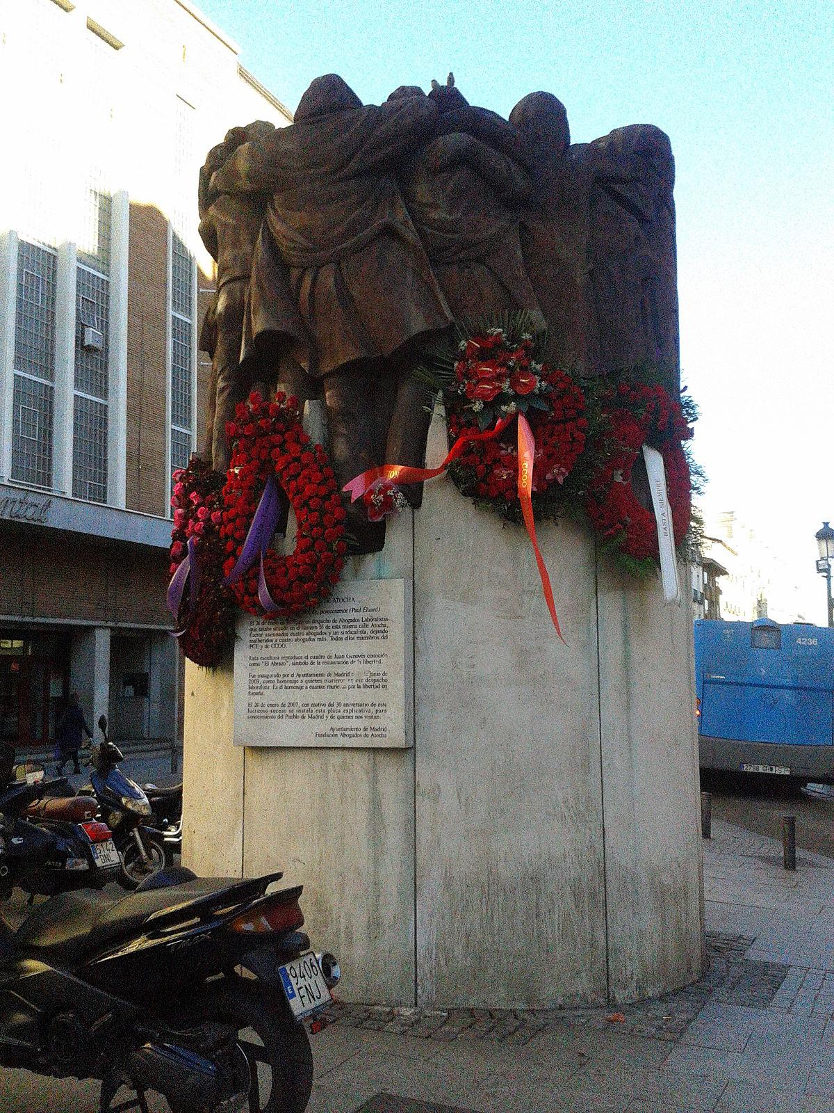 1977 Massacre of Atocha  Wikipedia