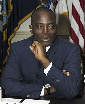 English: President Joseph Kabila of the Democr...