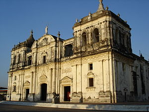 Cathedral of León, Nicaragua, biggest Cathedra...