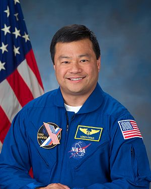 "Astronaut Leroy Chiao, BS 1983, ""first As..."