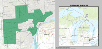 Michigan US Congressional District 13 (since 2013).tif