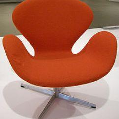 Arne Jacobsen Swan Chair Z Covers Wikipedia Ngv Design 1958 Jpg