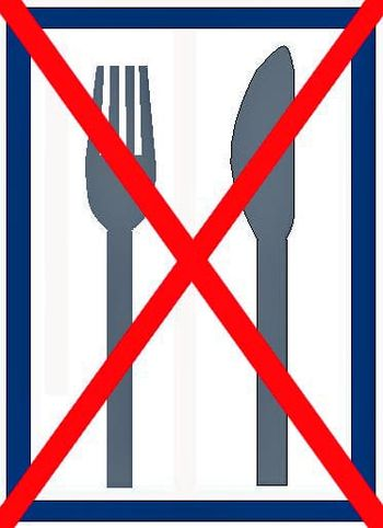 no food!