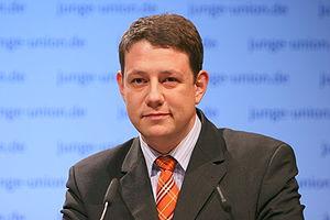 English: Philipp Mißfelder MP, chair of the yo...